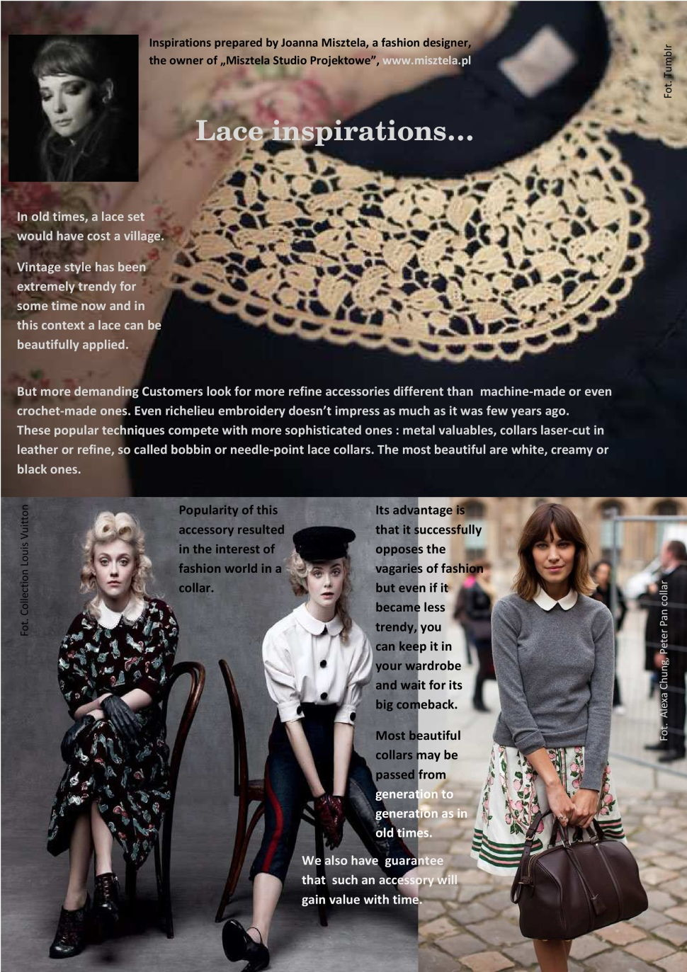 Fancy collars - Inspirations - My Poland
